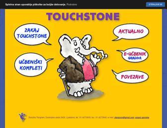 touchstone.si screenshot