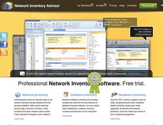 network-inventory-advisor.com screenshot