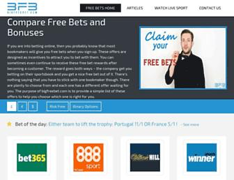 bigfreebet.com screenshot