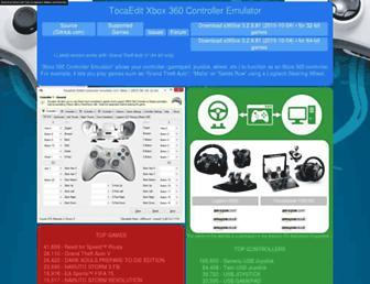 x360ce.com screenshot