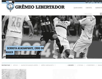 gremiolibertador.com screenshot
