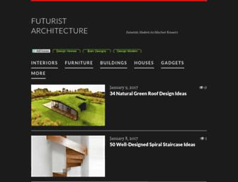 futuristarchitecture.com screenshot