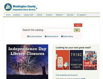 Thumbshot of Wccls.org