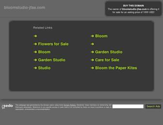 bloomstudio-jfaa.com screenshot