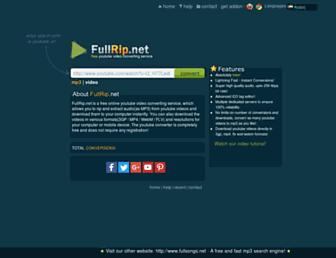 Thumbshot of Fullrip.net