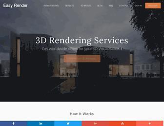 easyrender.com screenshot