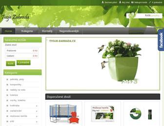 Thumbshot of Tvoje-zahrada.cz