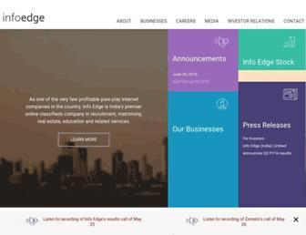 Thumbshot of Infoedge.com