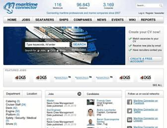 Thumbshot of Maritime-connector.com