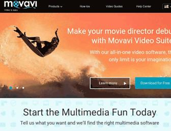 movavi.com screenshot