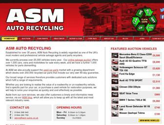 asm-autos.co.uk screenshot