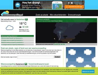 Thumbshot of Weersvoorspelling.nl