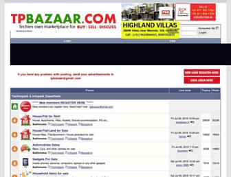 Thumbshot of Tpbazaar.com