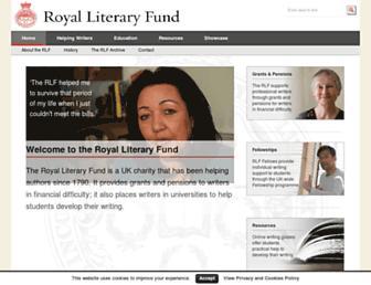rlf.org.uk screenshot