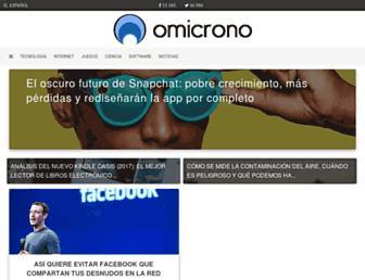 omicrono.elespanol.com screenshot