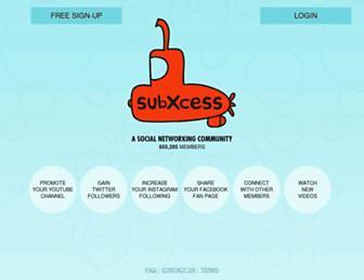 Thumbshot of Subxcess.com