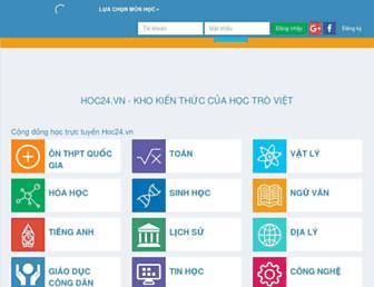 hoc24.vn screenshot