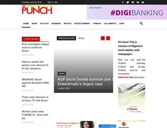 Thumbshot of Punchng.com