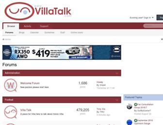 villatalk.com screenshot