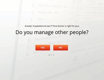 Thumbshot of Timedoctor.com