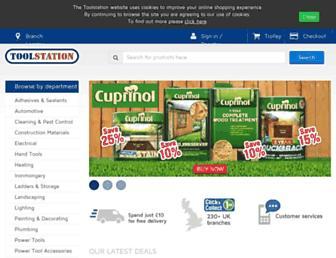 Thumbshot of Toolstation.com