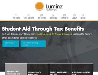 Thumbshot of Luminafoundation.org