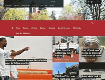 iowastatedaily.com screenshot