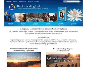 expandinglight.org screenshot