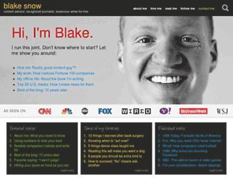 blakesnow.com screenshot
