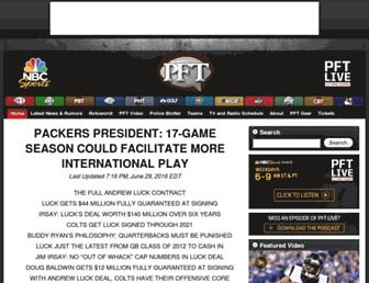 profootballtalk.nbcsports.com screenshot