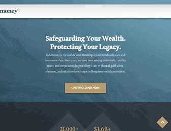 Thumbshot of Goldmoney.com