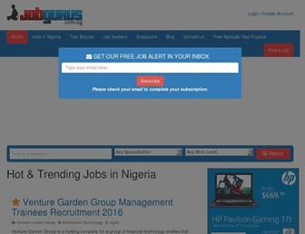 Thumbshot of Jobgurus.com.ng
