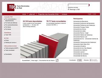 tesisenred.net screenshot