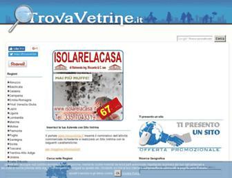 Thumbshot of Trovavetrine.it