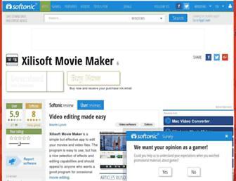 xilisoft-movie-maker.en.softonic.com screenshot