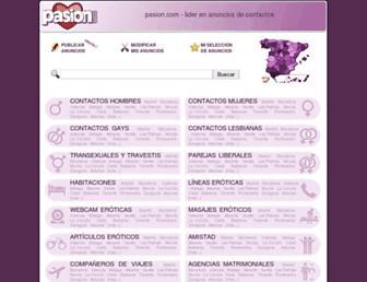 pasion.com screenshot