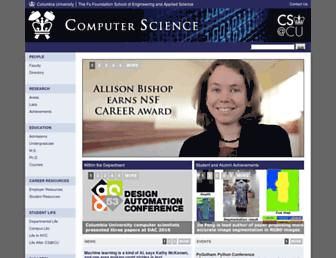 www1.cs.columbia.edu screenshot