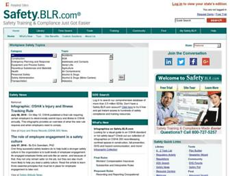 safety.blr.com screenshot