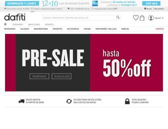 Thumbshot of Dafiti.com.ar