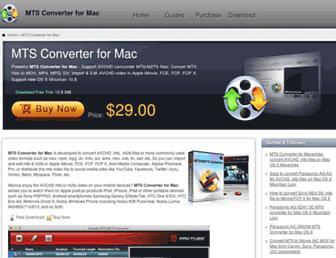 mts-converter-mac.com screenshot