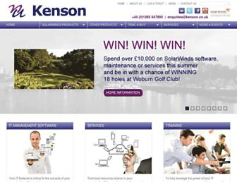 kenson.co.uk screenshot