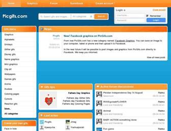 picgifs.com screenshot
