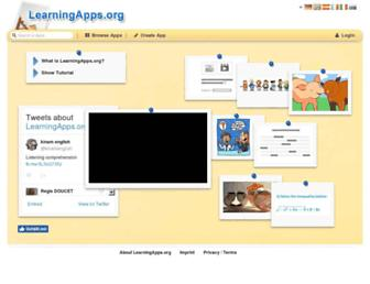 Thumbshot of Learningapps.org
