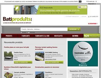 produits-btp.batiproduits.com screenshot