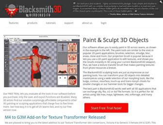 blacksmith3d.com screenshot
