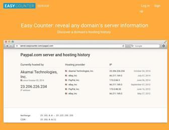 server.easycounter.com screenshot