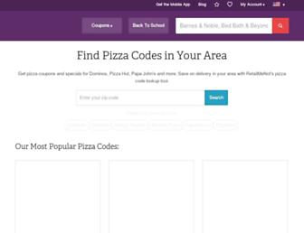 Thumbshot of Pizzacodes.com