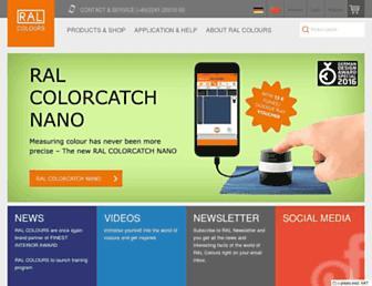 ral-farben.de screenshot