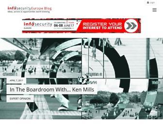 blogs.infosecurityeurope.com screenshot