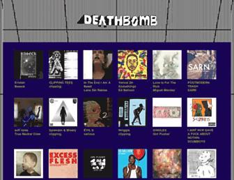 deathbombarc.bandcamp.com screenshot